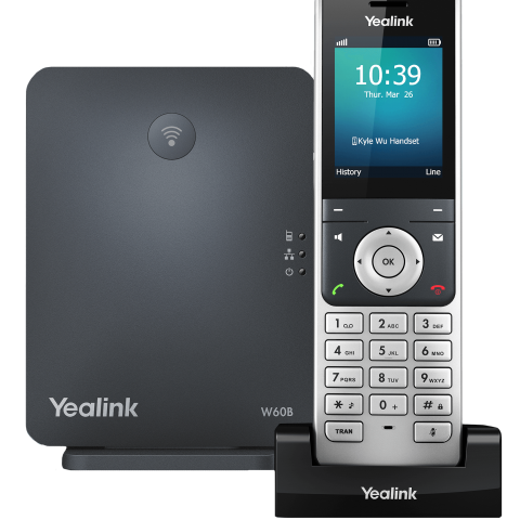 Yealink W60P DECT Cordless